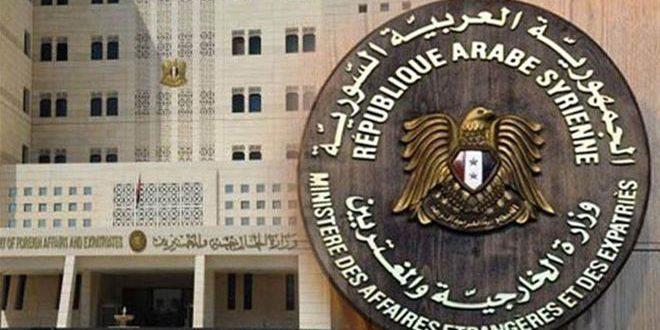 أدانت تسيير دوريات أميركية تركية مشتركة في منطقة الجزيرة سورية: عدوان موصوف يهدف إلى تعقيد وإطالة أمد الأزمة