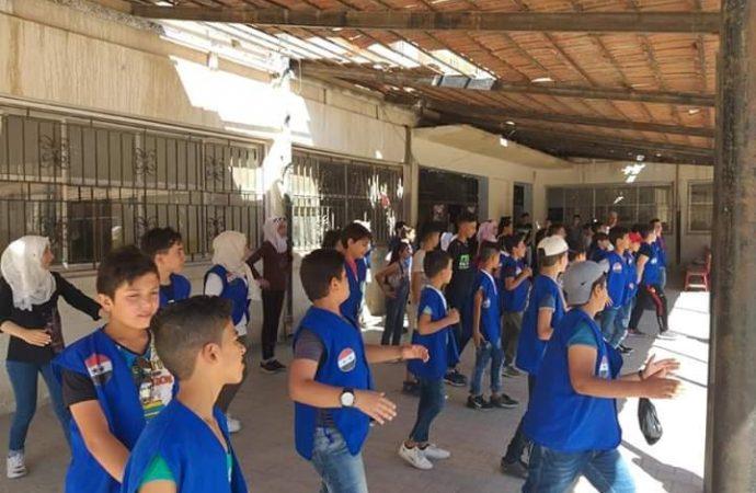 المخيم الشبيبي في البوكمال