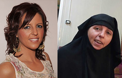 """ايرلندية انضمت إلى """"داعش"""" تطالب بالعودة إلى موطنها"""