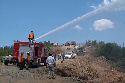 من الأولويات المستعجلة رفع كفاءة وجاهزية مكافحة الحرائق الحراجية وحماية الغابات وتعزيز الشراكة مع المجتمع المحلي