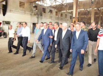 اللجنة الوزارية تتفقّد المنشآت الاقتصادية في حلب