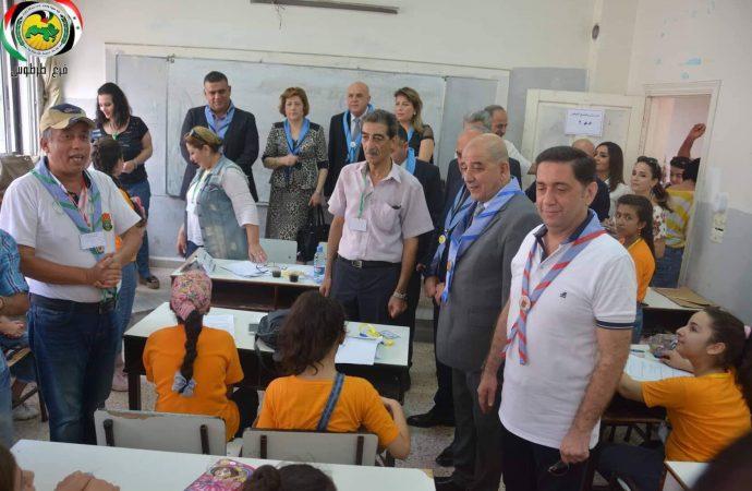 انطلاق مسابقات الرواد المركزية في طرطوس  الشوفي: تحصين أجيال الوطن أولوية وطنية