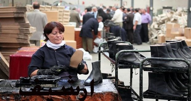 افتتاح الخط الثاني المتكامل للإنتاج في معمل أحذية مصياف