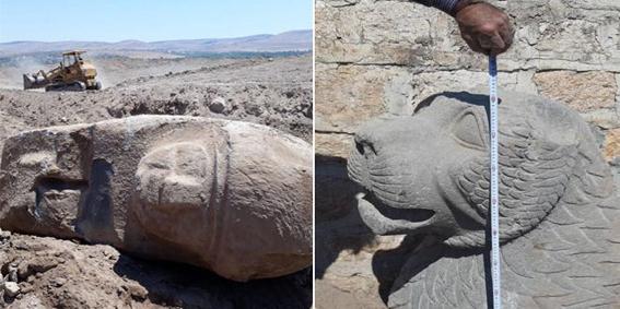 قوات الاحتلال التركي تخرّب وتنهب مواقع أثرية في عفرين