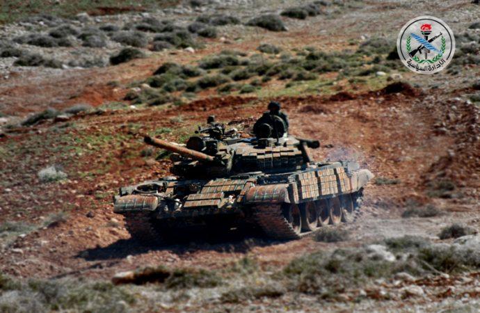 الجيش يقتحم معاقل الإرهابيين ويستعيد السيطرة على بلدتي الصخر وتل الصخر وصوامع الجيسات بريف حماة