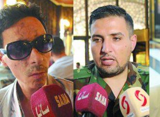 كما انتصروا في ميدان المعارك  جرحى الجيش العربي السوري ينتصرون في ميدان العلم