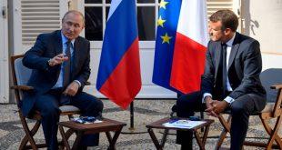 بوتين لـ ماكرون: روسيا تدعم جهود الجيش العربي السوري في عملياته ضد الإرهابيين في إدلب