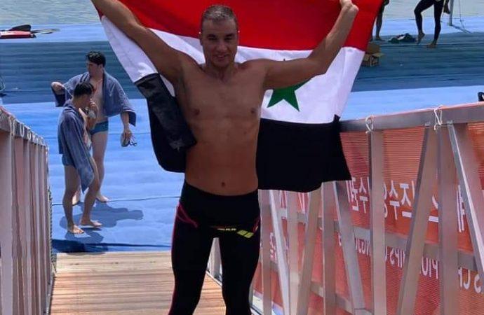 سبّاحنا فراس معلا يواصل حصد الميداليات ويحرز فضية بطولة العالم