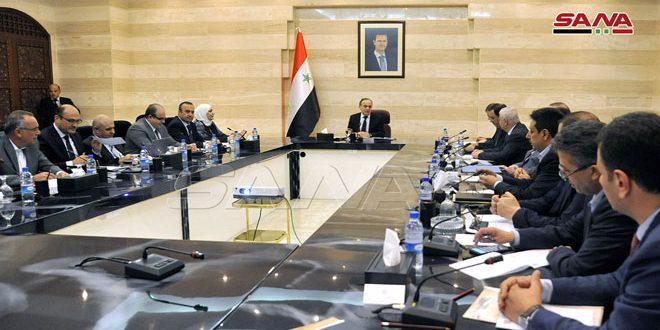 لجنة السياسات الاقتصادية تحدّد أسس النهوض بقطاع صناعة الإسمنت