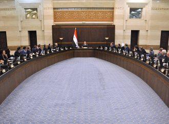 للمرة الأولى 100 ألف م2 المساحة المحجوزة من معرض دمشق  الحكومة: نهضة تنموية حقيقية في درعا والقنيطرة