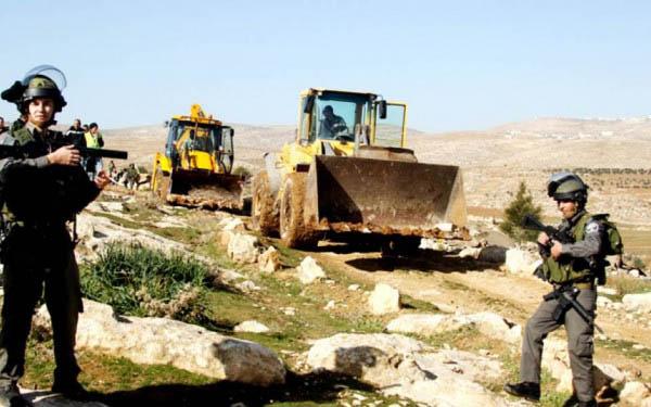 الاحتلال يستولي على 85 % من أراضي الفلسطينيين في جالود