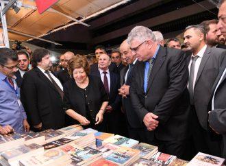 برعاية الرئيس الأسد.. افتتاح معرض الكتاب الدولي العطار: نحتفي بقيم الثقافة.. والكتاب سلاح من أسلحة المقاومة
