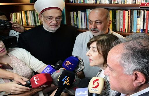 """مؤسسة القدس الدولية """"سورية"""" تفتتح المكتبة المقدسية"""