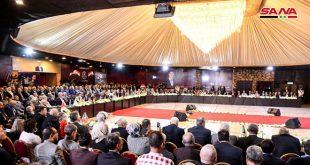 المشاركون في الملتقى النقابي العمالي الدولي الثالث: الرئيس الأسد قائد تاريخي يناضل من أجل وطنه وشعبه