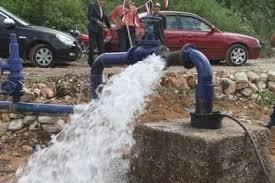 استثمار آبار مياه جديدة