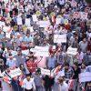 جماهير حلب تطالب بخروج قوات الاحتلال الأمريكية والتركية فوراً من سورية دمشق وموسكو: استكمال الإجراءات لإعادة من تبقى من المهجّرين من مخيم الركبان