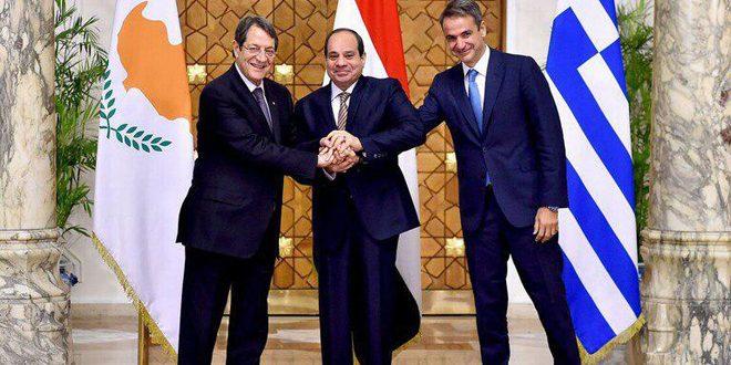إيران تؤكّد مجدّداً ضرورة احترام سيادة سورية ووحدة وسلامة أراضيها مصر وقبرص واليونان تدين عمليات النظام التركي: غير قانونية وغير مشروعة