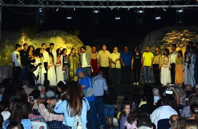 عروض فنية منوعة في مهرجان أوغاريت الأول في اللاذقية