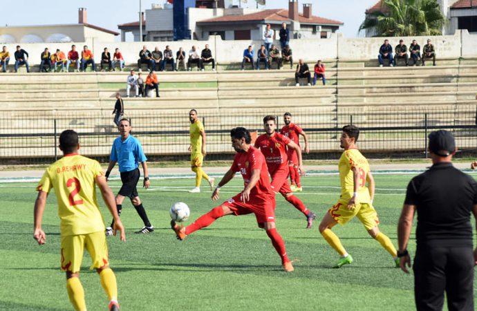 في الجولة الخامسة من الدوري الكروي الممتاز المتصدر في مهمة صعبة ..ولقاءات قمة في دمشق.. وجبلة يلاحق الفوز الأول