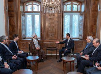 أكد لذو النوري أن صراعنا مستمر في مواجهة أطماع الغرب ودوله الاستعمارية الرئيس الأسد: أهم عناصر قوة محور مكافحة الإرهاب تمسّكه بالثوابت والمبادئ