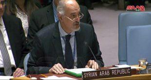 الجعفري: ضرورة احترام سيادة سورية ووحدة وسلامة أراضيها