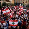 لبنان.. المتظاهرون يطالبون بإعادة الأموال المنهوبة