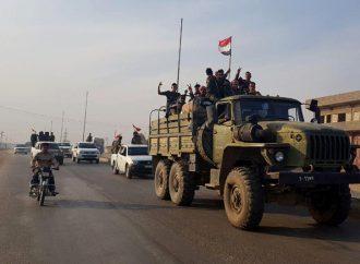 الجيش يحكم سيطرته على اللويبدة غربية وتل خزنة بريف إدلب.. ويستكمل انتشاره على الحدود مع تركيا من ريف رأس العين إلى عين ديوار