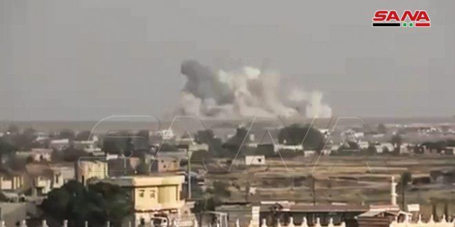 استشهاد 5 مدنيين بينهم أطفال في اعتداء للاحتلال التركي على قرية قرنفل