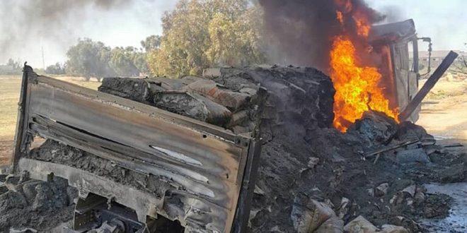 الجيش الليبي يدمّر 19 مدرعة للنظام التركي في مصراتة