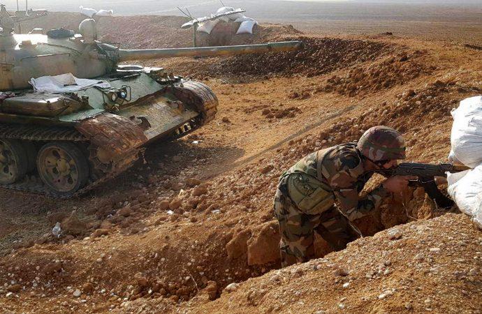 عشرات الآليات الأمريكية قرب حقول الرميلان  الجيش يعزّز انتشاره على طريق الحسكة حلب.. ويسقط طائرة تركية مسيرة