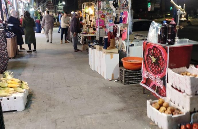 البسطات العشوائية في شوارع وأسواق حلب  قلق دائم للأهالي والمحلات التجارية.. ومصدر رزق للعائلات!