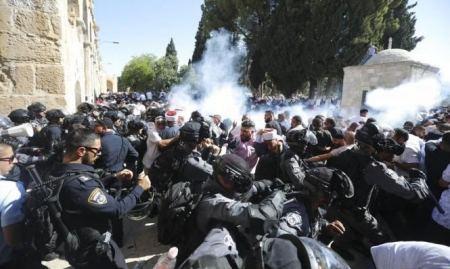 عشرات الجرحى في قمع الاحتلال مظاهرة في الخليل