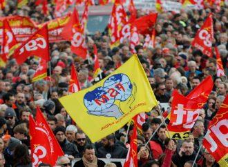 ماكرون يواجه أكبر تحدٍّ.. إضراب عام مفتوح وتظاهرات في 250 مدينة فرنسية