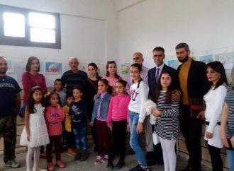 افتتاح معرض للأطفال في القطيلبية