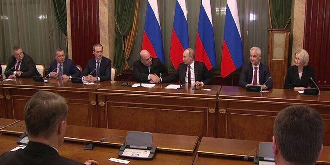 شويغو ولافروف يحتفظان بمنصبيهما في الحكومــــة الروسيــــة الجديـــدة