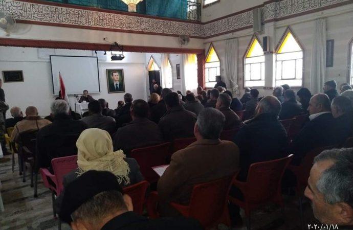 في لقاء حواري قضايا ومشروعات عين شقاق في عهدة المحافظة