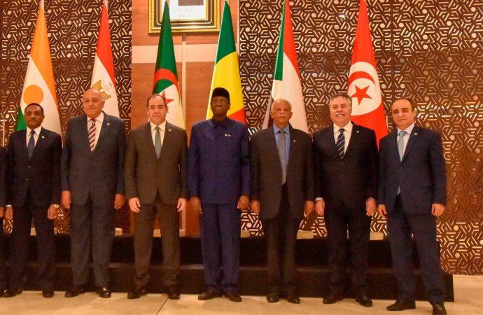 دول جوار ليبيا تتفق على رفض أي تدخلات خارجية