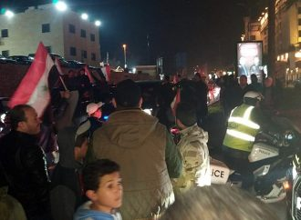 السوريون يشاركون أهالي حلب فرحة التحرير الكامل