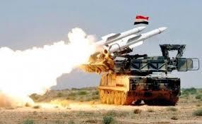 دفاعاتنا الجوية تتصدى لعدوان إسرائيلي في سماء محيط دمشــق