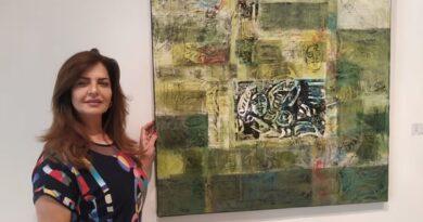 لينا ديب: بين بداية اللوحة ونهايتها يعيش الفنان حياة كاملة!!