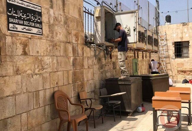 في حادثة غير مسبوقة الاحتلال يركب سماعات على مداخل المسجد الأقصى