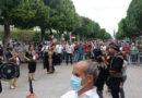 وقفة في تونس تطالب بإعادة العلاقات مع سورية وكسر الحصار