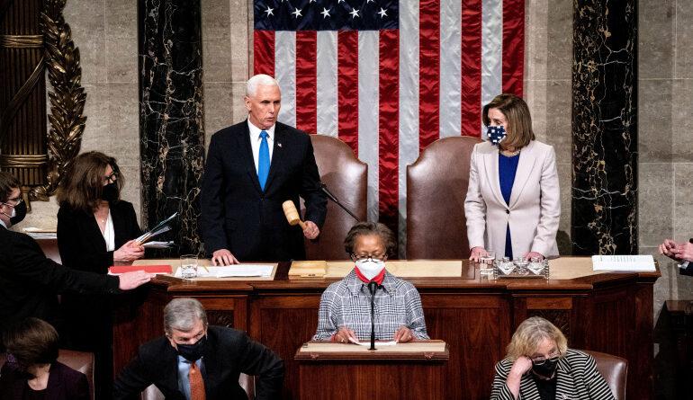 رغم معارضة بنس.. مجلس النواب يصادق بالأغلبية على قرار يدعو لتفعيل التعديل الـ25 لعزل ترامب
