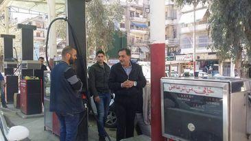 تشكيل فريق مشترك لمراقبة توزيع المازوت المخصص للنقل العام في حلب