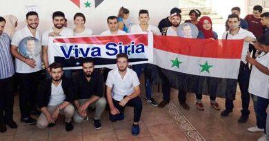الطلبة وأبناء الجالية السورية في كوبا يجددون وقوفهم إلى جانب وطنهم